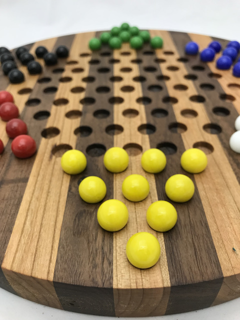 Combo Board Game Chinese Checkers Marble Solitaire